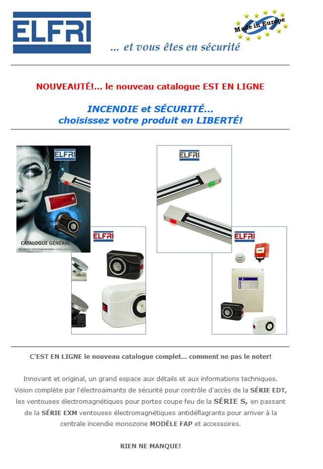 NEWS le nouveau catalogue